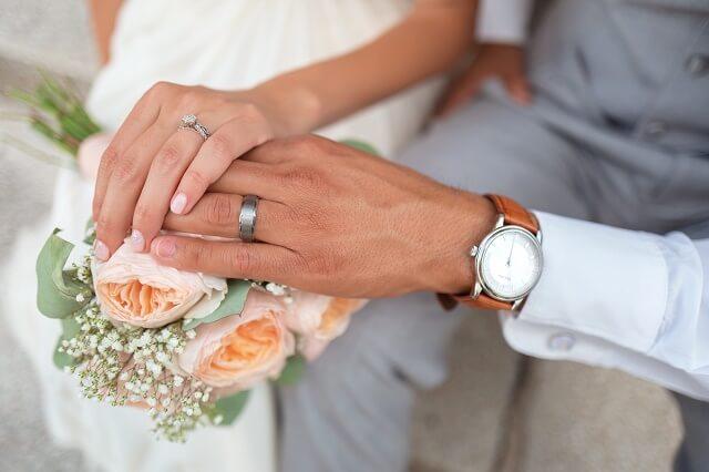結婚相談所の流れを経て結婚した二人