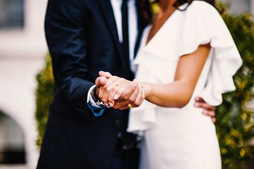 結婚相談所の条件選びに成功した二人