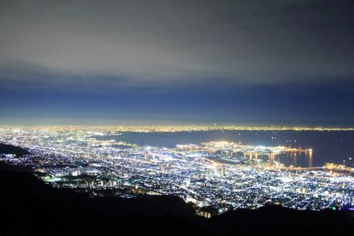 六甲山の夜景